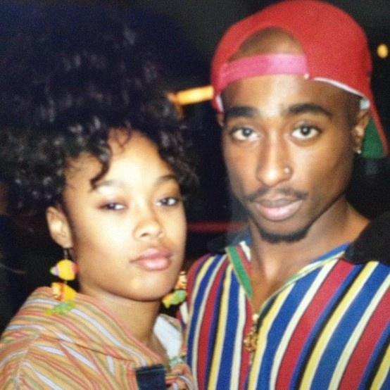 Da Brat and Tupac Shakur