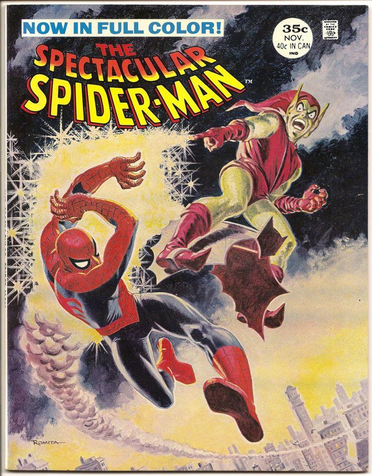 The Spectacular Spider-Man Magazine nº 2 (Noviembre 1968, Marvel Comics), Arte de John Romita