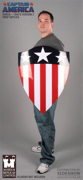 Capitão América Escudo Anos 40 de Aço Martelado à Mão! « Blog de Brinquedo