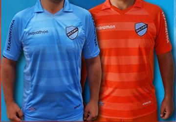 Club Bolívar 2014/15 Marathon Home and Away Kits