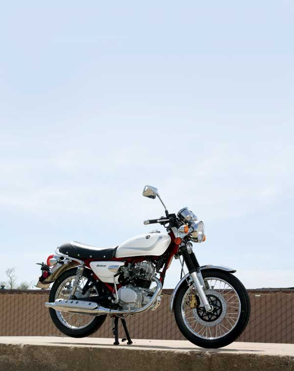 SYM Wolf Classic 150 - Classic Japanese Motorcycles - Motorcycle Classics