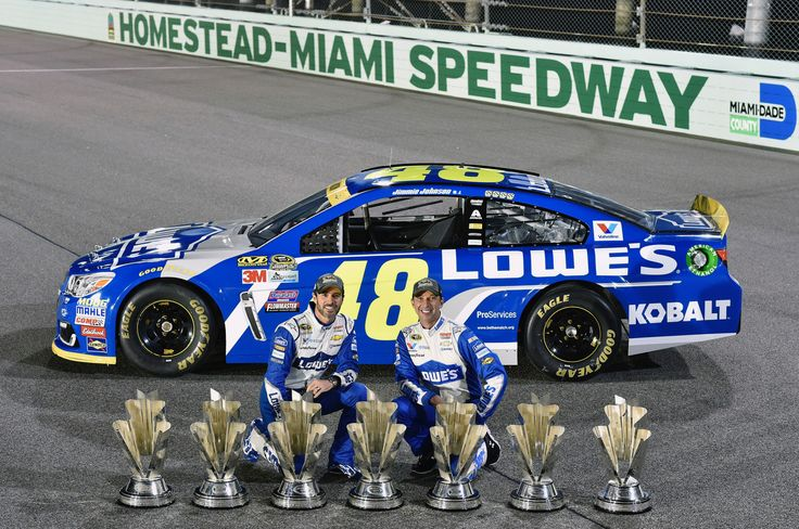 Jimmie and Chad ~ Seven Championships Together