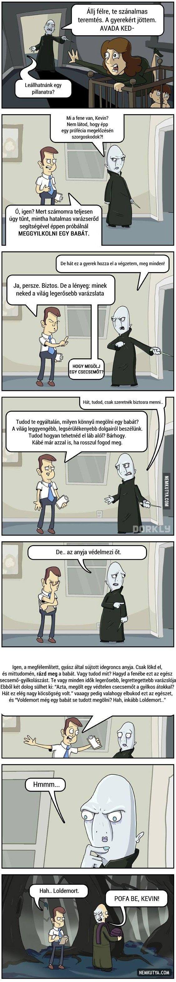 Voldemort, a félkegyelmű