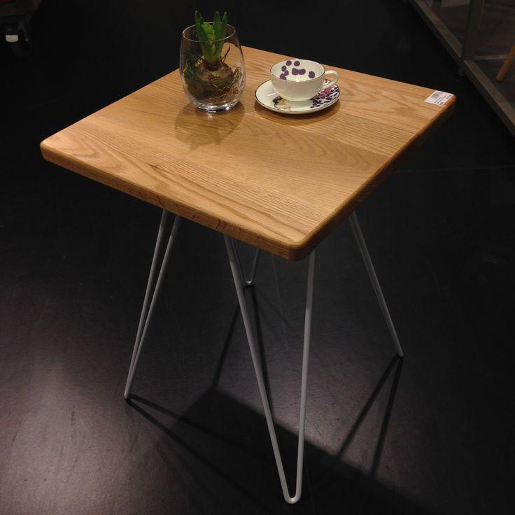 Nyhet! Stilrena bordet Cadix perfekt som litet sidobord, soffbord eller varför inte sängbord? 679kr. #habitatsverige #bord #table
