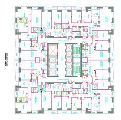 Princess Tower Floor Plans - Dubai Marina