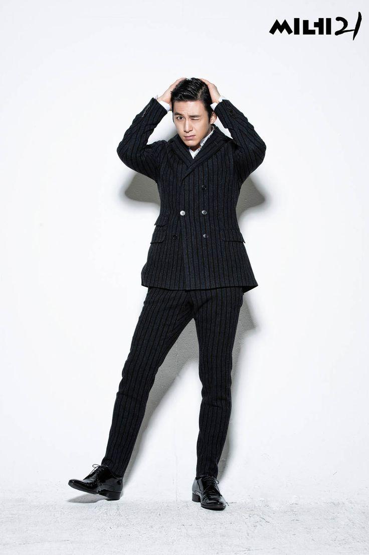 Go Soo - Cine21 Magazine January Issue '15