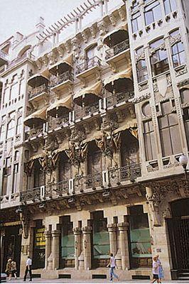 Casino Mercantil en la Ciudad de Zaragoza
