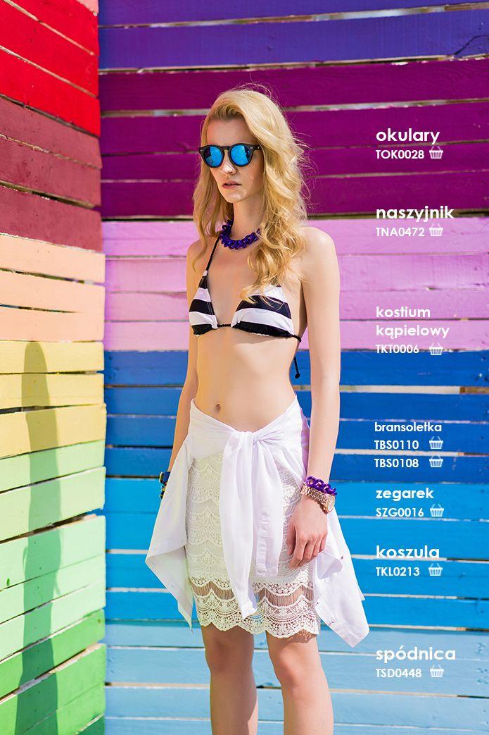 Koronkowa #spodnica #troll idealna na lato