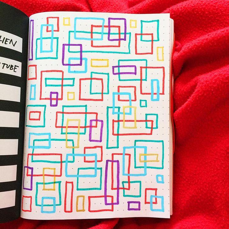 Doodlebug #doodle #draw #drawing #art #posca #geometric #stealjournal p.s. @acolorstory rocks #acolorstory