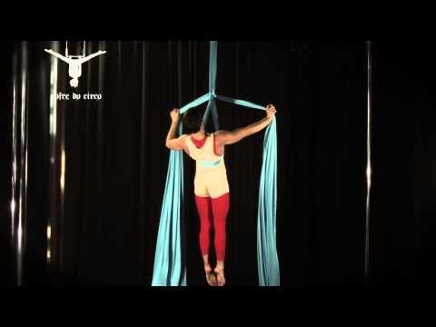 Aerial Silk - Hang Rope Variations 1   Tecido Acrobático - Estafa Variações 1 - YouTube