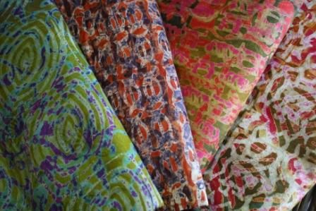 Batik Fabric from Ghana Africa available at Big Village