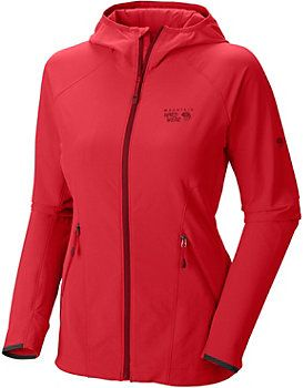 Mountain Hardwear Super Chockstone Kapuzen-Softshelljacke Damen pink 140€