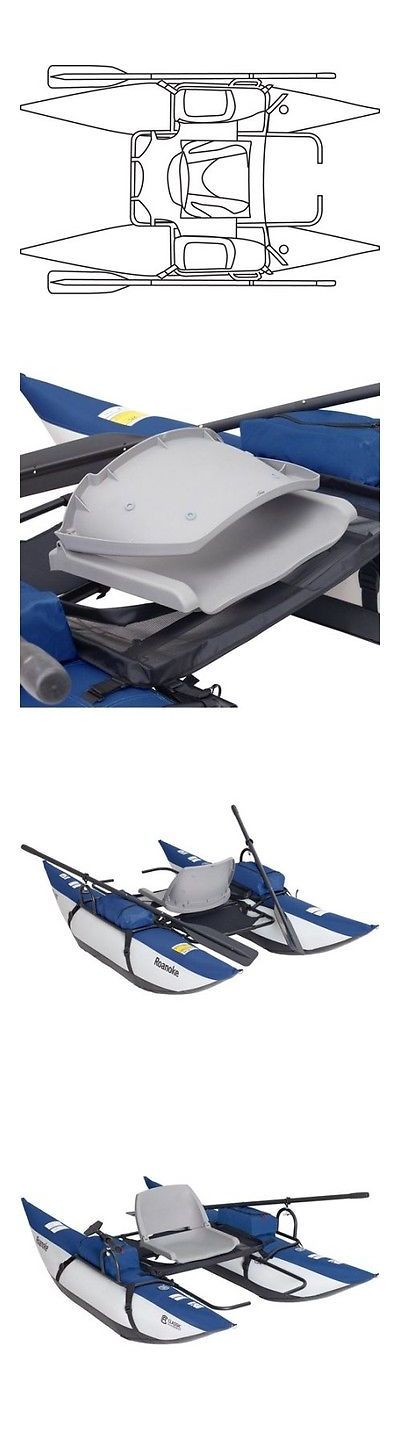 Other Kayak Canoe and Rafting 36123: Classic Accessories Roanoke 1-Person Fishing Pontoon Boat -> BUY IT NOW ONLY: $339.59 on eBay!