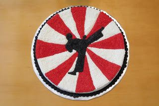 Room Mom Extraordinaire: Tae Kwon Do Party - cake