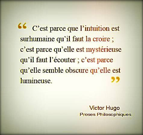 Victor Hugo, Proses Philosophiques