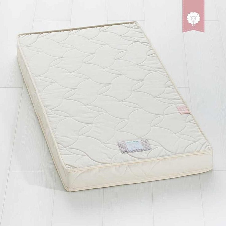 Twist Natural Cot Bed Mattress 70x140cm The Little Green Sheep