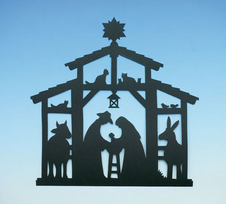 "Bastelanleitung Fensterbild ""Zu Bethlehem"""