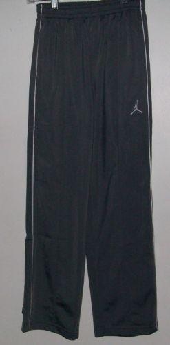 nike air jordan athletic sweatpants black