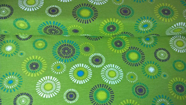jersey jerseystoff blumen flowers moosgr n gr n stoffe g nstig kaufen stoffe g nstig und. Black Bedroom Furniture Sets. Home Design Ideas