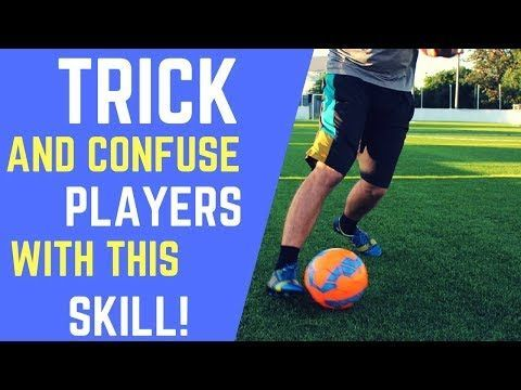 This Video Breaks Down A Simple Move To Beat Defenders 1v1 Many Players Lack The Confidence To Attack Defenders Soccer Workouts Soccer Training Soccer Skills