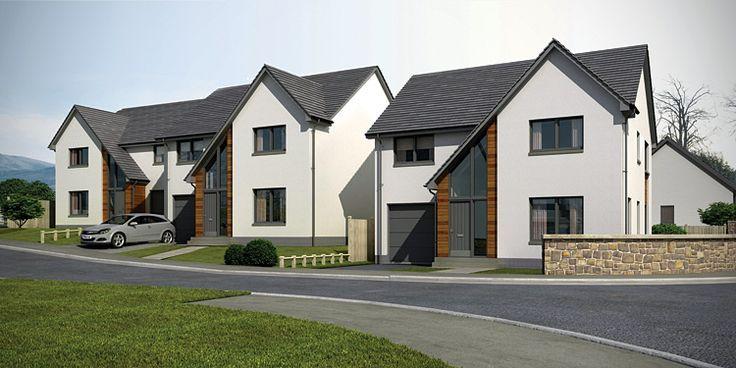 contemporary new housing developments uk - Google Search