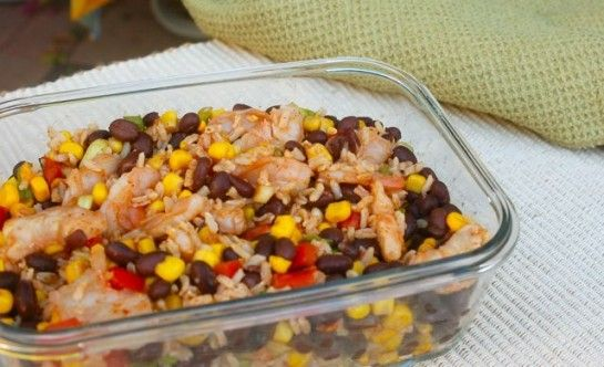 Shrimp Black Bean Salad | Easy Healthy Weight Watchers Recipes