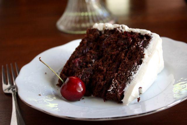Best 25+ Cherry Chocolate Cakes Ideas On Pinterest