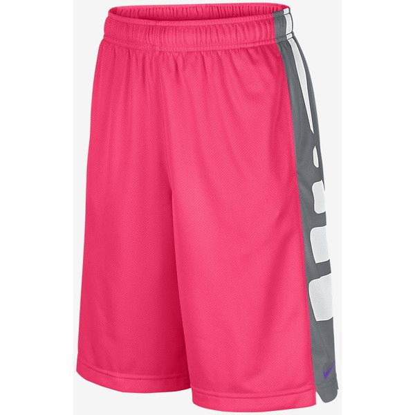 Nike Elite Stripe Boys' Basketball Shorts ❤ liked on Polyvore featuring shorts
