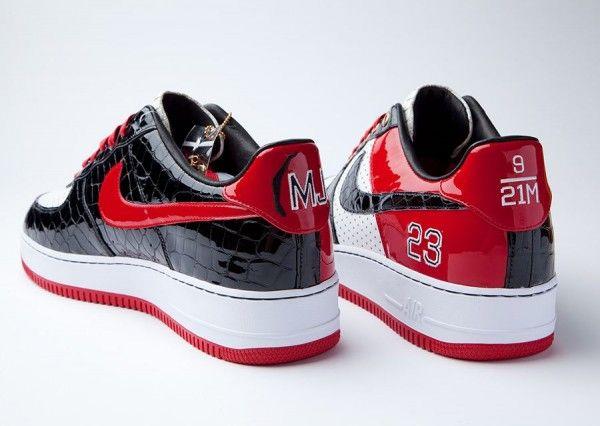 """Nike Air Force 1 Bespoke """"Michael Jordan"""""""
