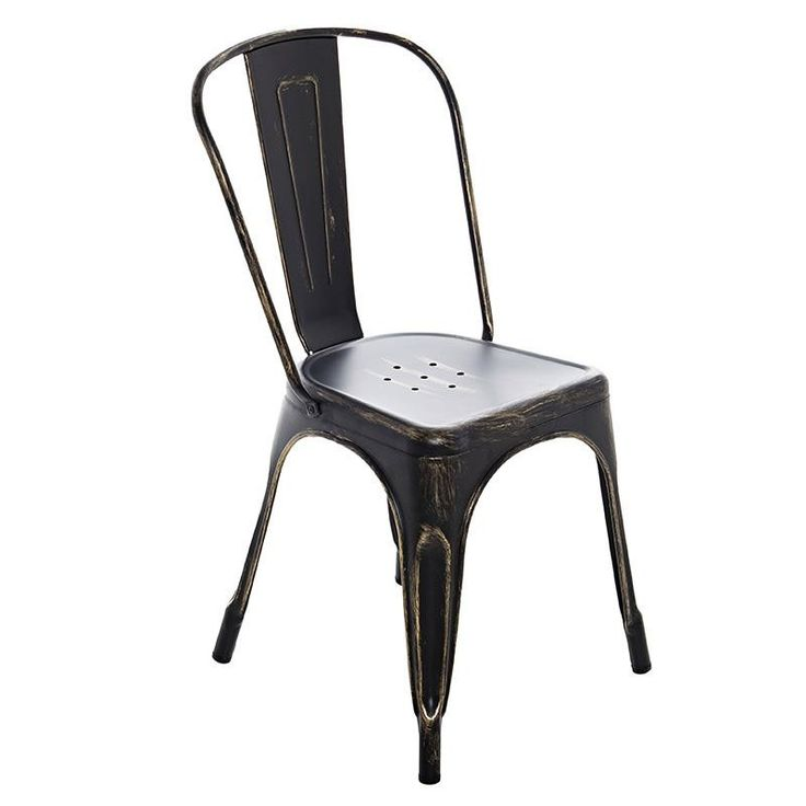 Industrial Dining Chair - Chairs - FURNITURE - inart
