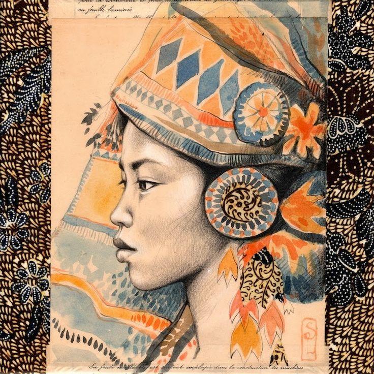 Stéphanie Ledoux - Carnets de voyage - Sumatra, Indonésie                                                                                                                                                                                 Plus