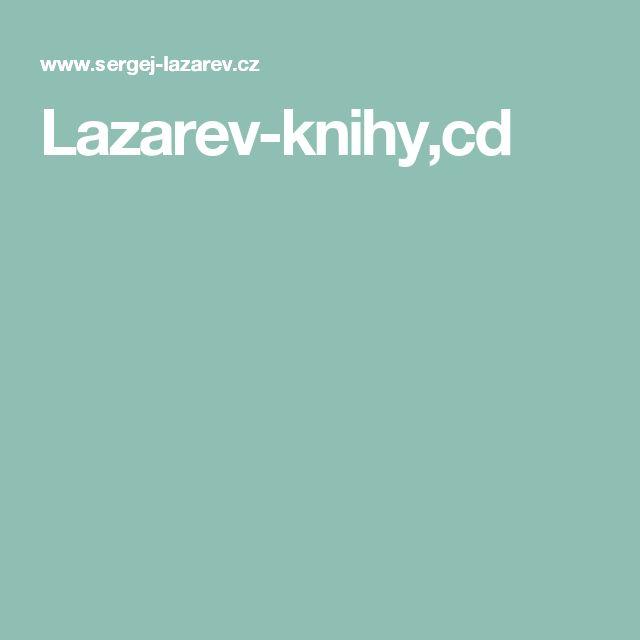Lazarev-knihy,cd