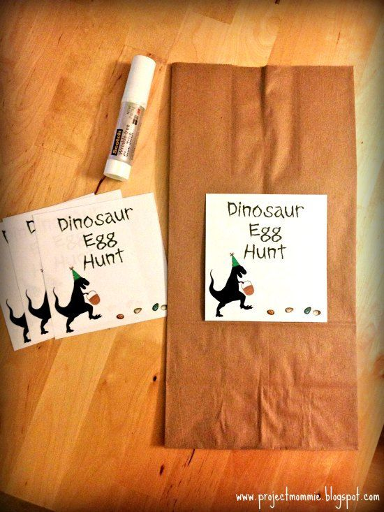 PDF Dinosaur Egg Hunt Labels Digital File Instant Download DIY Dino Activity Ideas for Birthday Party!  Activities for little Paleontologists!