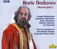 Modest Mussorgsky: Boris Godunov [CD]