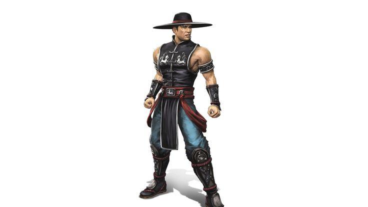 New Mortal Kombat Fighter Character Hat Wallpaper Wallpaper