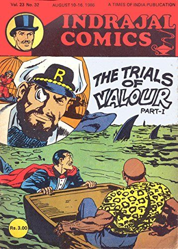 Indrajal Comics-632-Mandrake & Rip Kirby: The Trials Of Valour Part-1 (V23N32-1986)