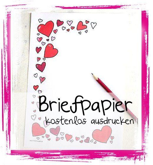 Briefpapier Gestalten : Besten kostenloses briefpapier bilder auf pinterest