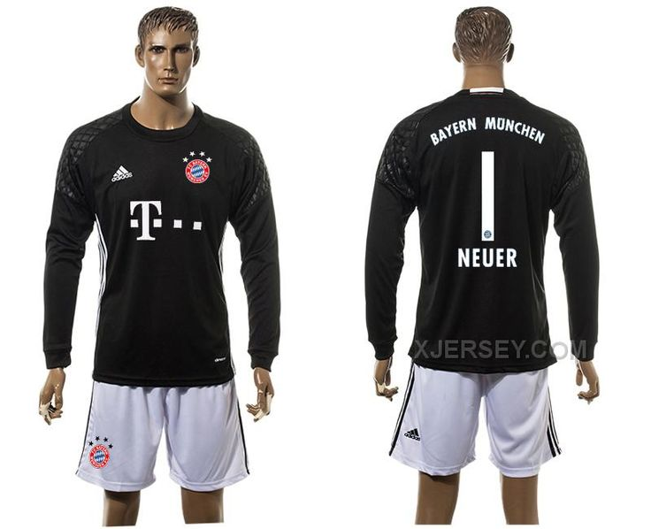 http://www.xjersey.com/201516-bayern-munich-1-neuer-goalkeeper-long-sleeve-jersey.html Only$35.00 2015-16 BAYERN MUNICH 1 NEUER GOALKEEPER LONG SLEEVE JERSEY #Free #Shipping!