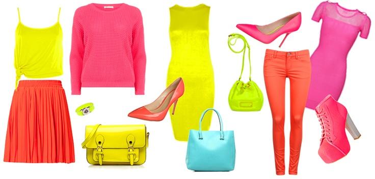Trend alarm! Neonowe kolory. Dodadzą uroku każdej stylizacji! Lubicie je?   /Trend alert! Neon colors. They will add charm to any styling! Do you like it?