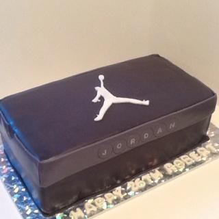 Michael Jordan Shoe Box
