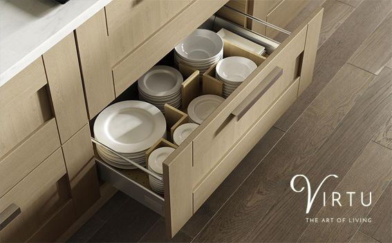 Oak Organiser Set. Ideal for dinner plates and bowls of all sizes - available 600 - 1000mm.  Visit #TheArtOfLiving