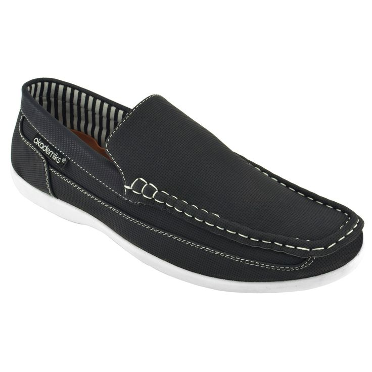 Akademiks Men's Slip-On Loafers - Overstock Shopping - Great Deals on Loafers