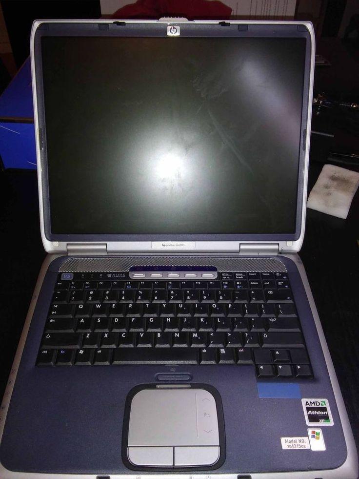 HP Pavilion ze4300 AMD Athlon XP processor 2000+ (1.67 GHz) Laptop for parts.   #HP
