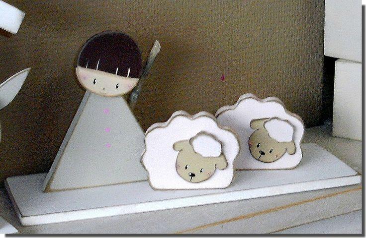 Le Berger et ses moutons 1