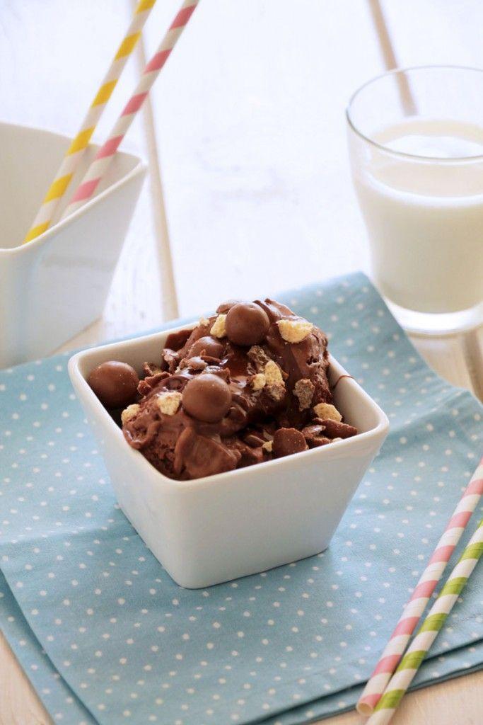 Παγωτό Maltesers (χωρίς παγωτομηχανή) - Craftaholic