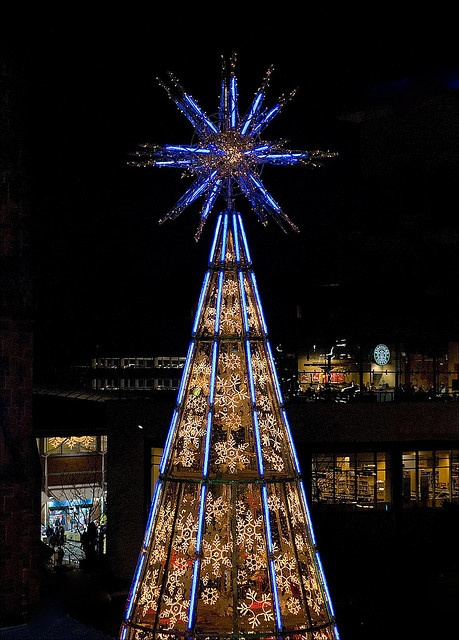 Christmas Tree, Birmingham, England