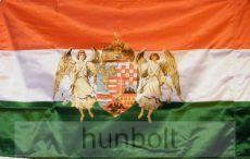 Angyalos selyem zászló