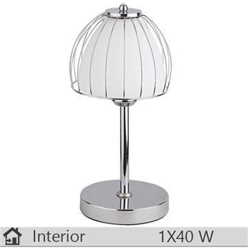 Veioza iluminat decorativ interior Rabalux, gama Orient, model 2040
