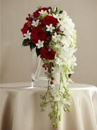 Image result for CONTEMPORARY SHOWER BOUQUET