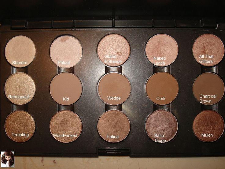 Mac+Eyeshadow+Palette | Mac Brown Eyeshadow Palette - Eyeshadow